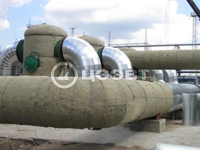 Тепловая изоляция газоходов